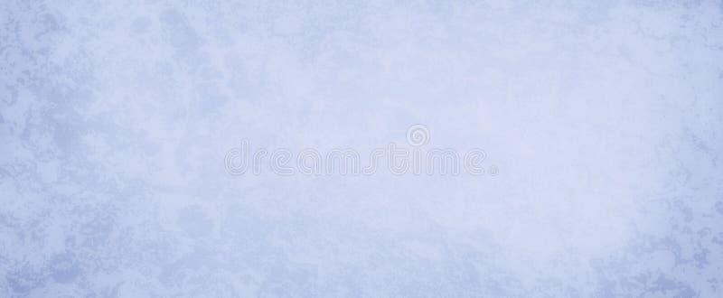 Pastellfärgad purpurfärgad blå bakgrund med vit grungetextur, gammal tappningbakgrund eller tapetillustration stock illustrationer