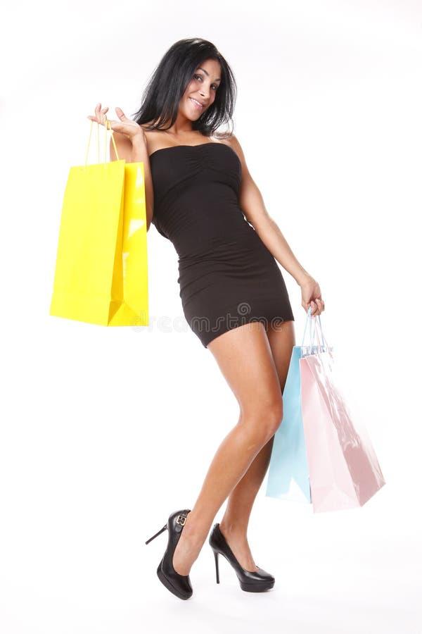pastellfärgad shopping royaltyfri fotografi