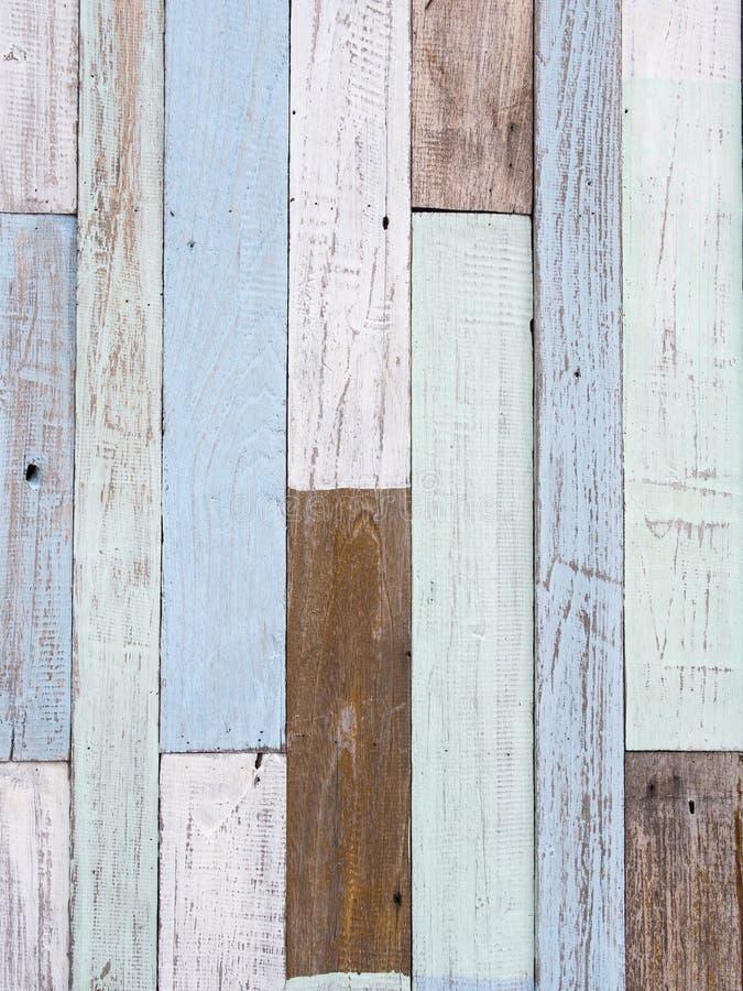 Pastellfärgad wood väggtextur fotografering för bildbyråer