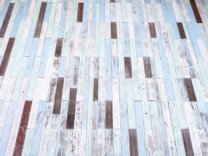 Pastellfärgad wood väggtextur royaltyfri foto