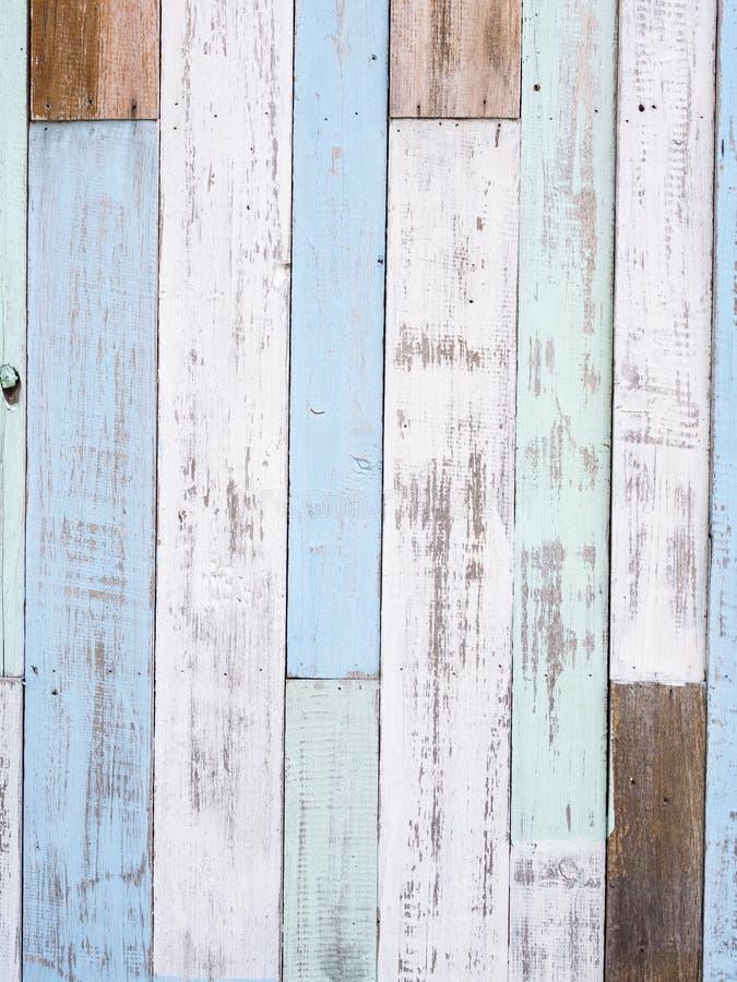 Pastellfärgad wood väggtextur royaltyfri fotografi