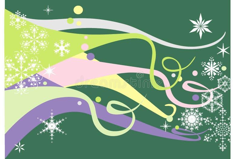 pastellfärgade snowflakes fotografering för bildbyråer