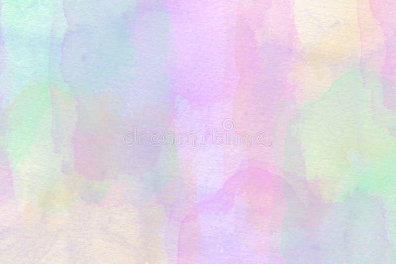 Pastellf?rgad vattenf?rgbakgrund royaltyfria foton