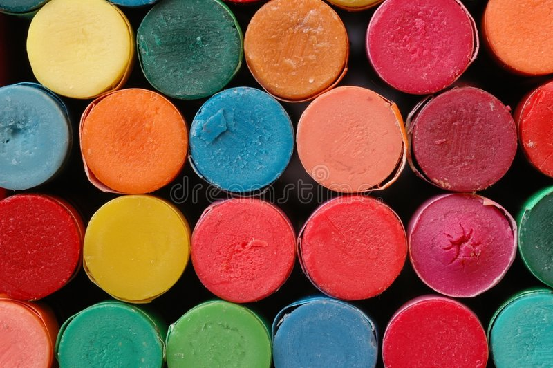 Download Pastelli fotografia stock. Immagine di matite, grafici - 216520