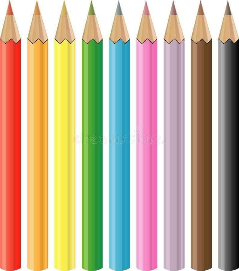 Pastelli royalty illustrazione gratis
