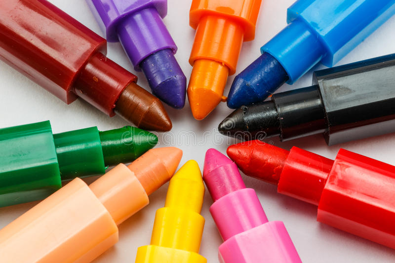 Pastelli Colourful fotografia stock