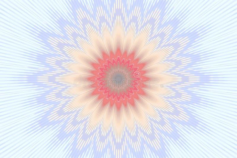 Pastellweiches Blumen des blumenmusters graphiken lizenzfreie abbildung