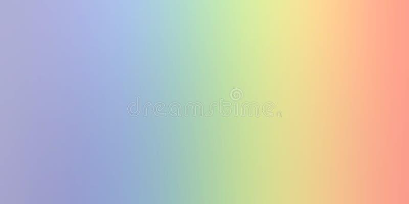 Pastelowego koloru plamy tła abstrakcjonistyczna tapeta, wektorowa ilustracja royalty ilustracja