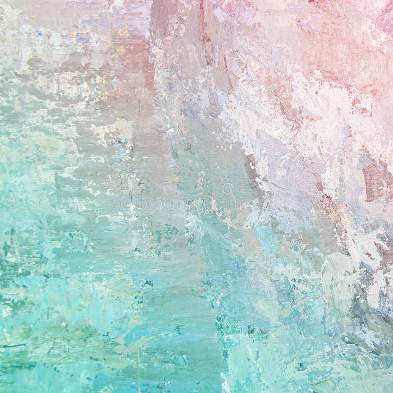 Pastelowego tła nafciane farby obraz royalty free