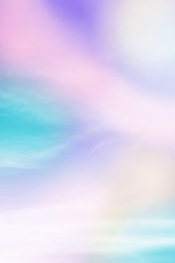 Pastelowej tęczy barwiony tło obrazy stock