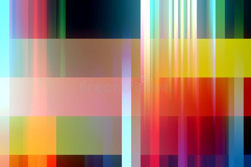 Pastelowy żywy abstrakt zaświeca, tworzy, i kształty, geometryczny abstrakcjonistyczny tło ilustracji