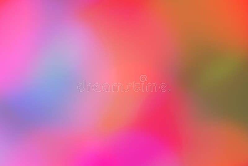 Pastelowy Abstrakcjonistyczny kolorowy tło obrazy royalty free