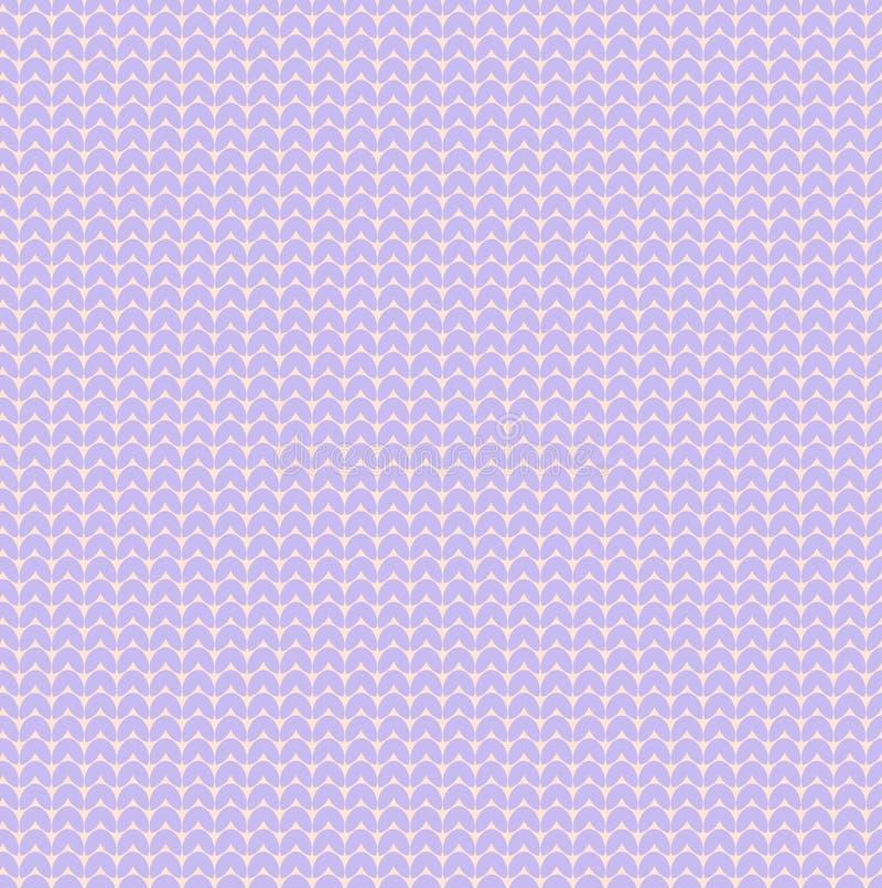 Pastelowy fio?kowy lawendowy wektor dziaj?cy serce puloweru tekstury wzoru bakground ilustracja wektor