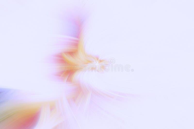 Pastelowy promienia tła wybuch błyszczący światło royalty ilustracja