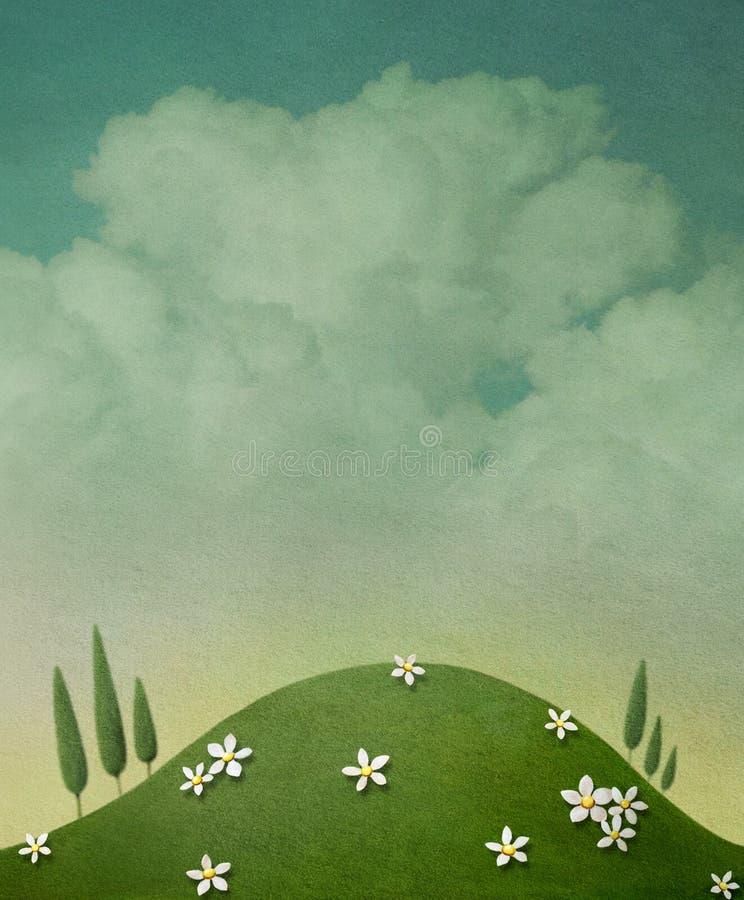 Pastelowy tło ilustracja wektor