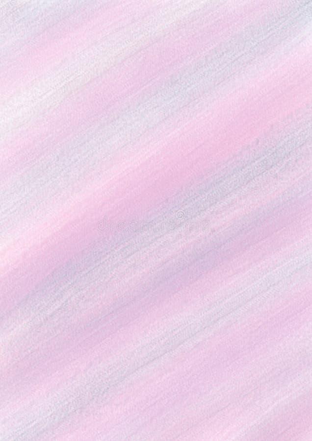 Pastelowy tło z brushstrokes w błękitnych, fiołka i menchii kolorach, zdjęcia royalty free