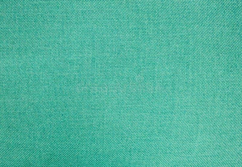 Pastelowy tło Zielona Bawełnianej tkaniny tekstura zdjęcie royalty free