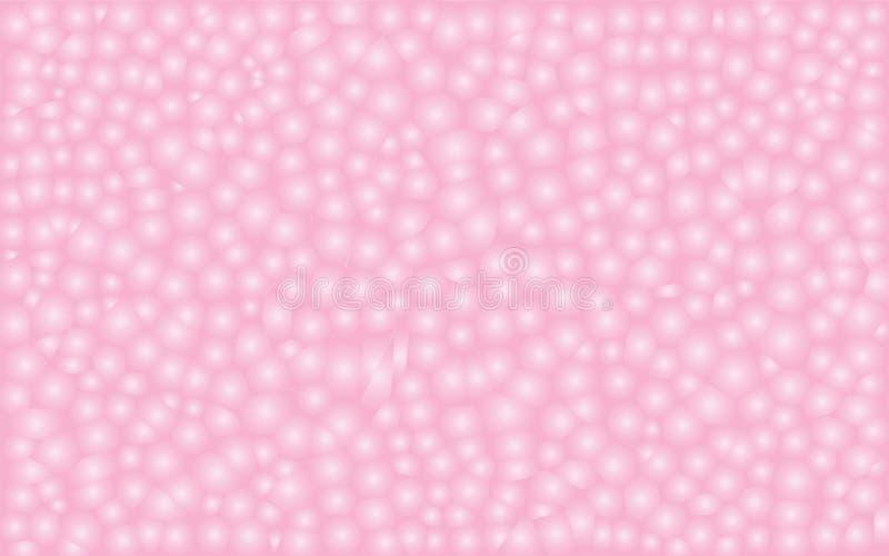 Pastelowych menchii mozaika Patern ilustracji