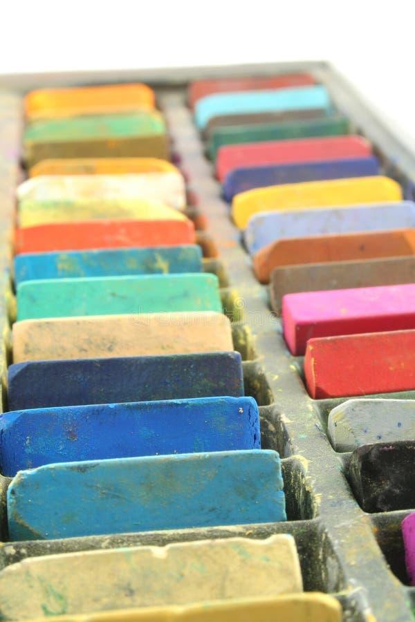 Pastels image libre de droits