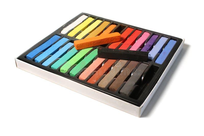 pastels de cadre d'artistes images stock
