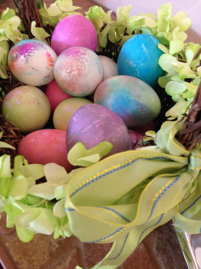 Pastels de Pâques photographie stock
