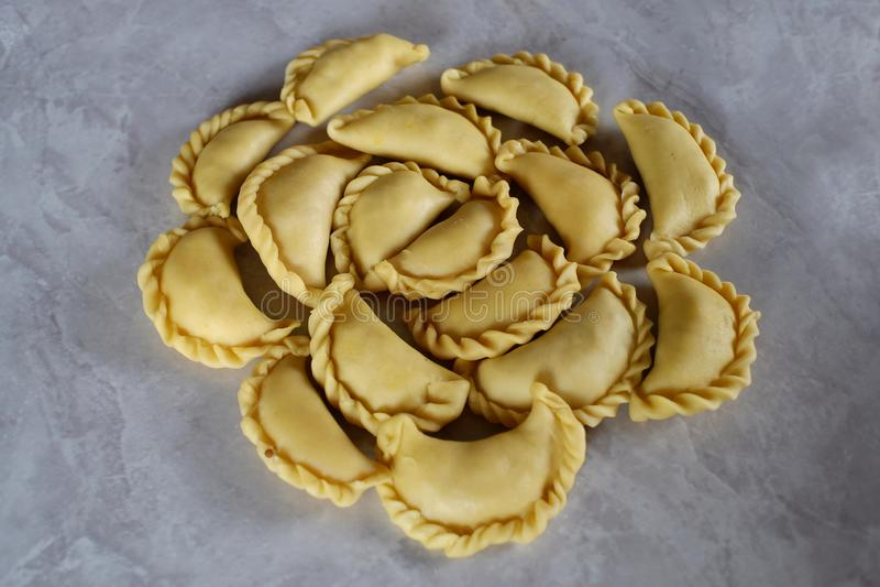 Pastels ou petit pâté image libre de droits