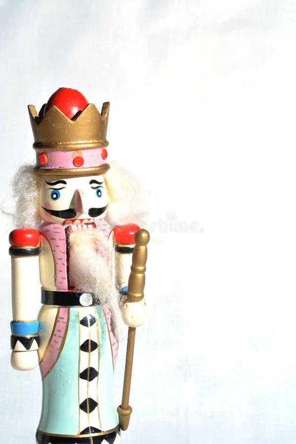 Pastelu dziadek do orzechów bożych narodzeń barwiona dekoracja fotografia royalty free