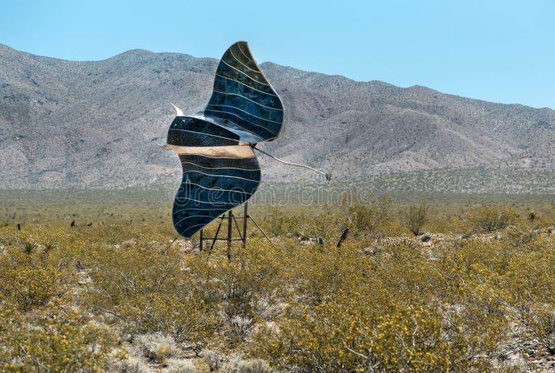 Pastenague de désert de Mohave image libre de droits