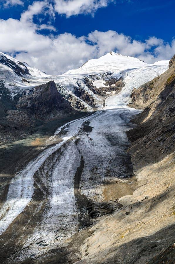 Pasterze-Gletscher, Alpen, Österreich stockfoto
