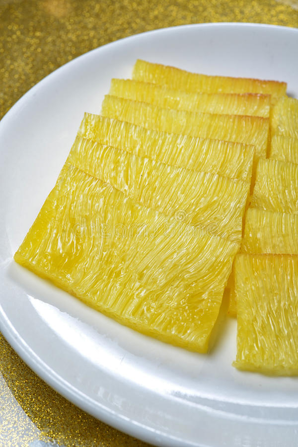 Pasticceria di Sugar Cane Glutinous fotografia stock