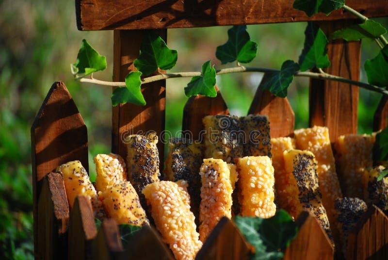 Pasticceria salata deliziosa immagine stock