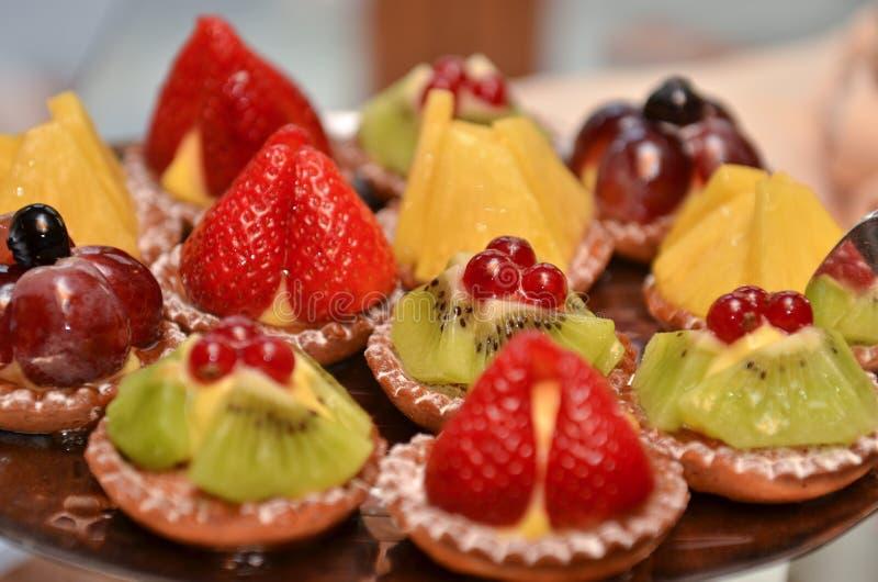 Pasticcerie della frutta fotografia stock libera da diritti