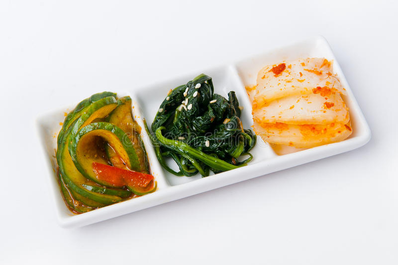 Pasto coreano immagini stock