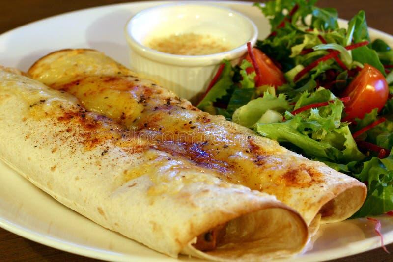 Pasto del Burrito fotografia stock libera da diritti