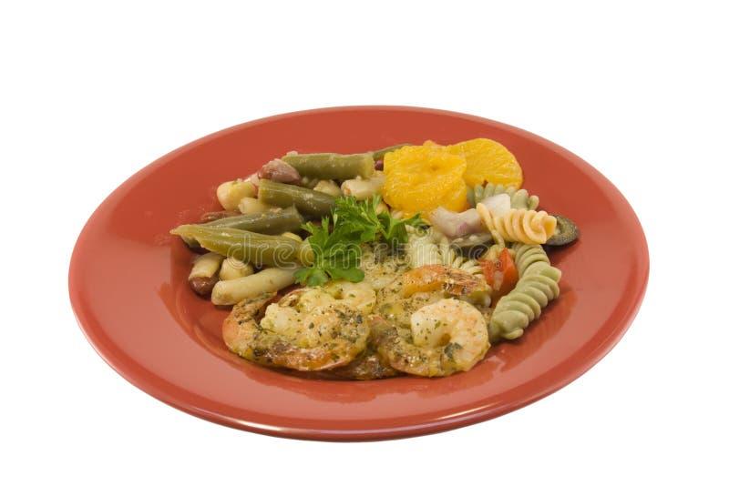 Download Pasto Del Gambero Dell'aglio Fotografia Stock - Immagine di crostacei, prezzemolo: 7317414