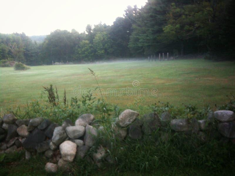 Pasto rural de Nueva Inglaterra imagen de archivo libre de regalías