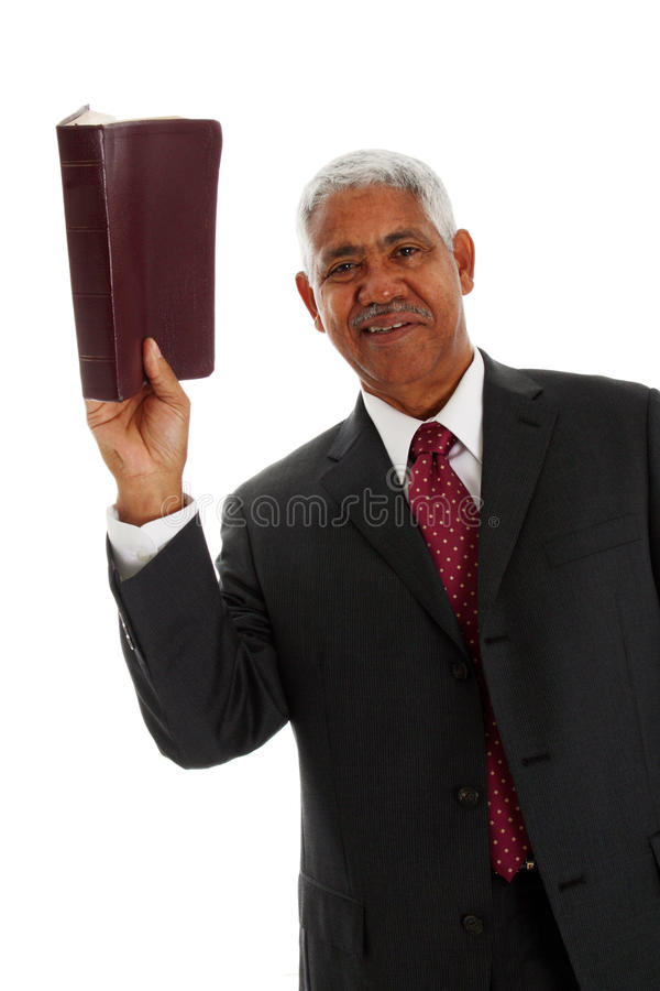 Pastor stock photography