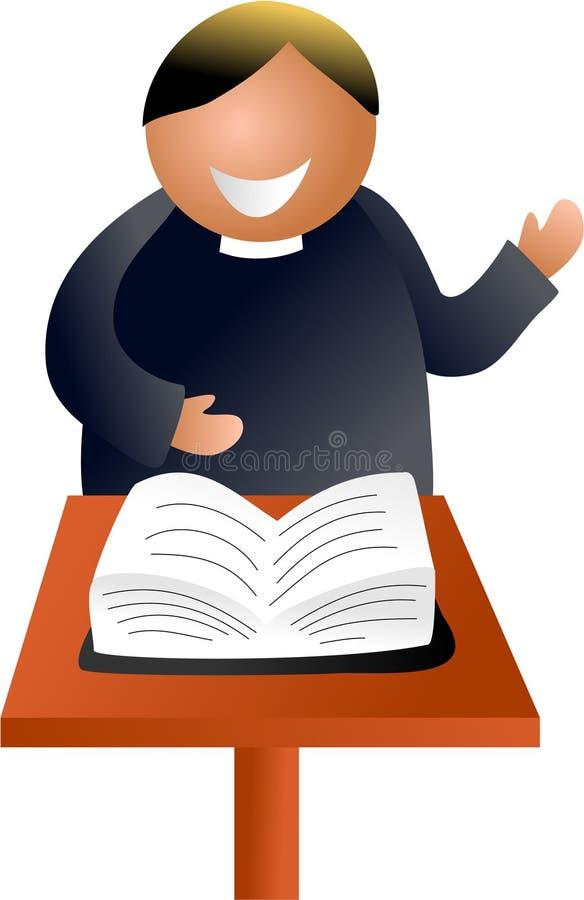 pastor ilustracji