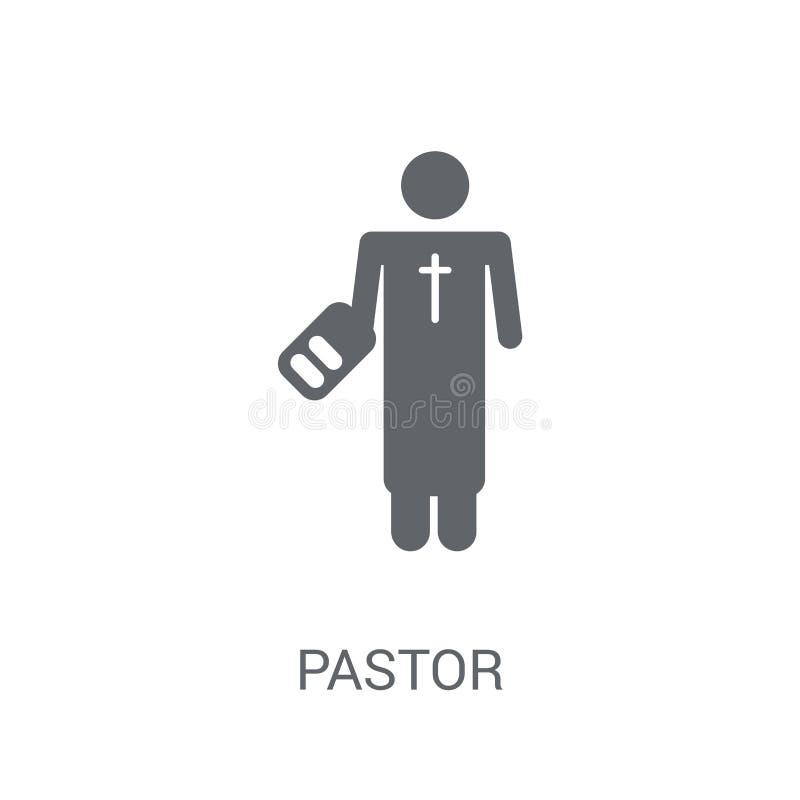 Pastor ikona  ilustracja wektor
