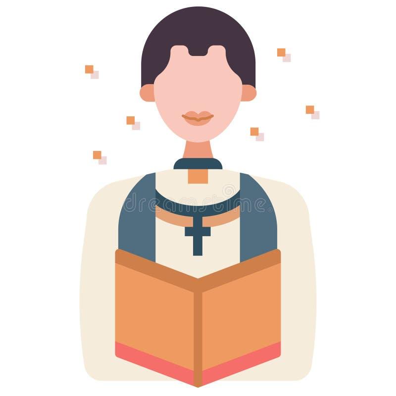Pastora mieszkania ilustracja ilustracji