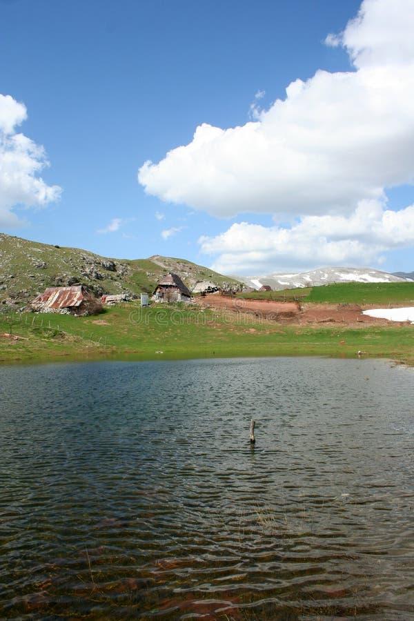 Free Pastoral Village In Mountains Royalty Free Stock Photo - 55281525