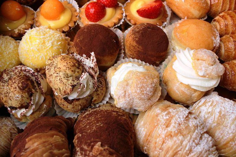 Download Pastries stock photo. Image of pastries, birthday, puffs - 26654812