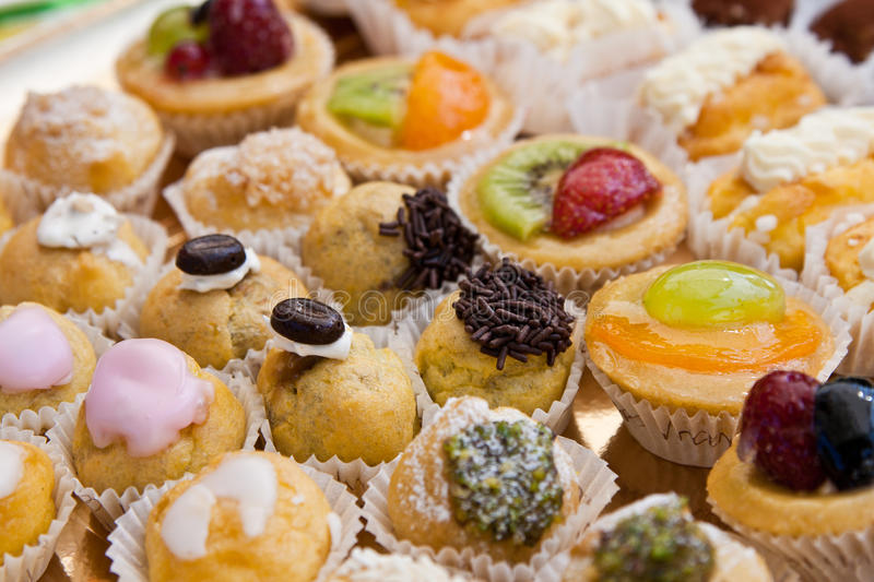 Pastries from Italy royalty free stock images