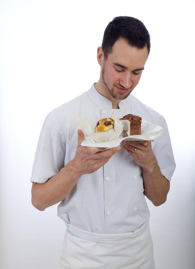 Download Pastry chef stock image. Image of cooking, white, chef - 30225447