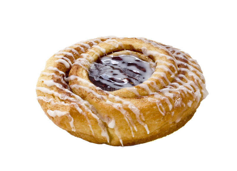 Pastry, isolated royalty free stock image