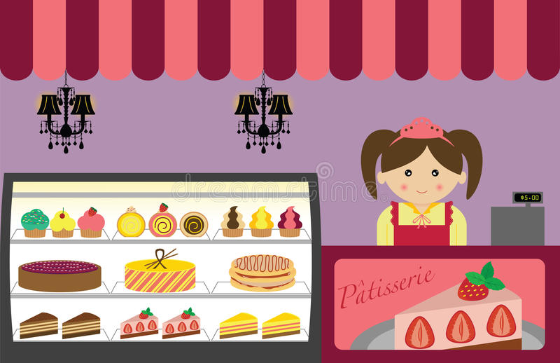 Pastry Shop royalty free stock image