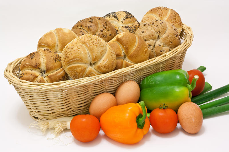 Pastry With Vegetable Royalty Free Stock Image