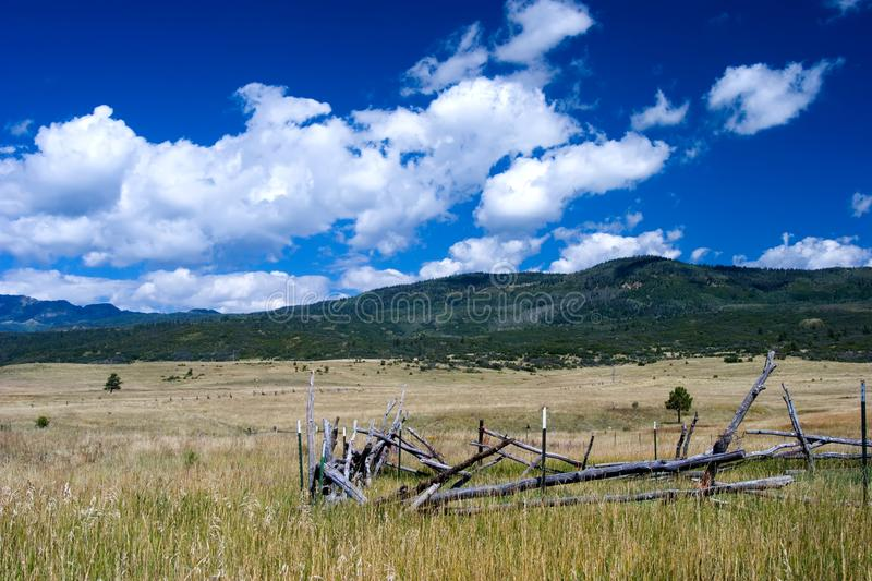 Northern New Mexico stock image