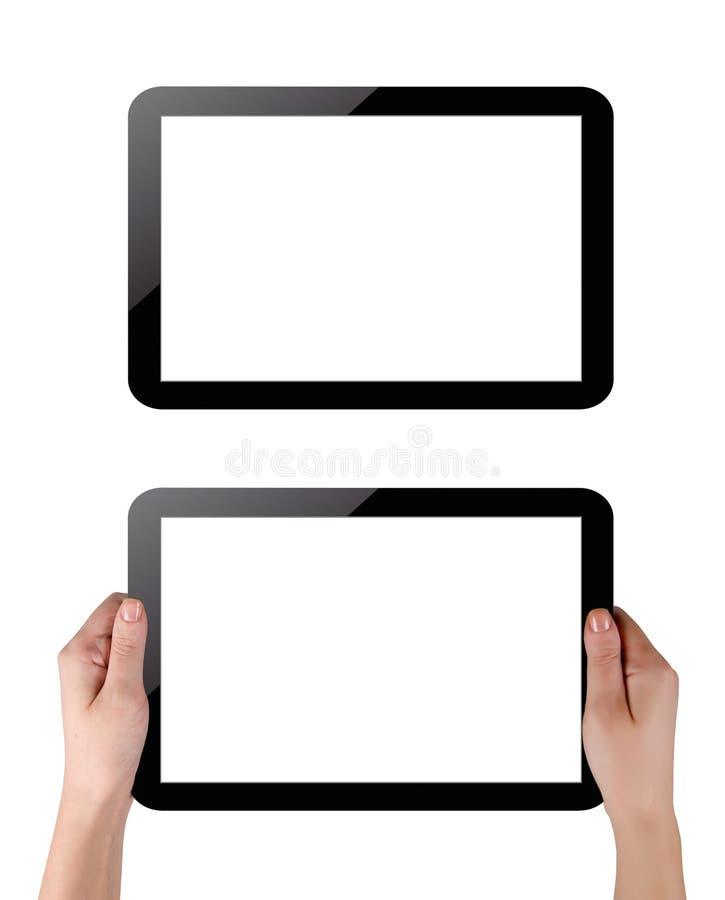 Pastylka komputer osobisty obraz royalty free