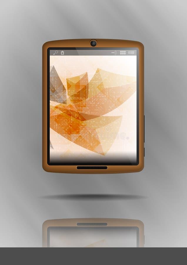 Pastylka telefon komórkowy & komputer osobisty. ilustracja wektor